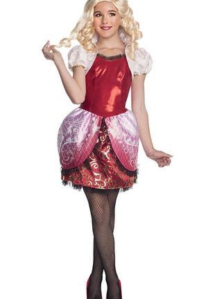 Карнавальный костюм эпл вайт эвер афтер хай на 5-7 лет уценка