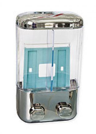 Дозатор для жидкого мыла в Украине 2-й 304 пластик под хром