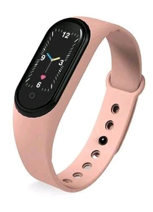 Фитнес браслет M5 Band Smart Watch Bluetooth Розовый