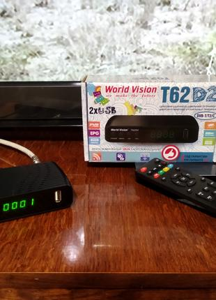 DVB-T2\DVB-C ресивер World Vision T62D2