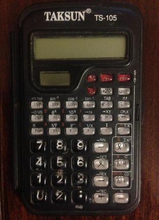 Инженерный калькулятор TAKSUN TS-105
