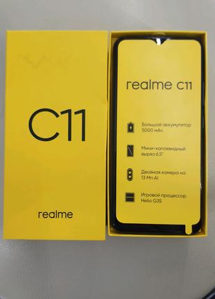 "Realme C11, экран 6.5"", 2/32Gb, 5000mAh, Android 10"