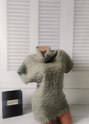 Свитшот свитер кофта джемпер пуловер серый тёплый, s/m