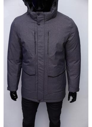 Куртка мужская зимняя pafao chs soft shell omni heat 6902 графит