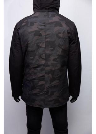 Куртка мужская зимняя chs the face soft shell 1987 камуфляж с ...