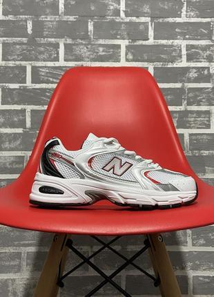 Кроссовки new balance 530 silver red серые / купить нью беланс...