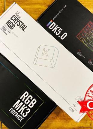 RGB! клавиатура 1stPlayer Outemu: K3 / MK3 / DK5.0. (USB) CompX!