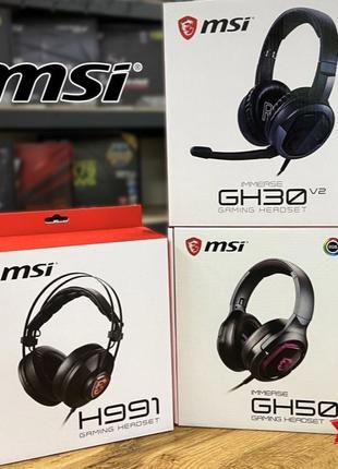 CompX! гарнитура MSI: GH30 V2 / DS502 / GH50. Гарантия!