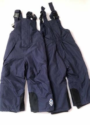 Полукомбинезон, лыжные штаны lupilu, crivit pro