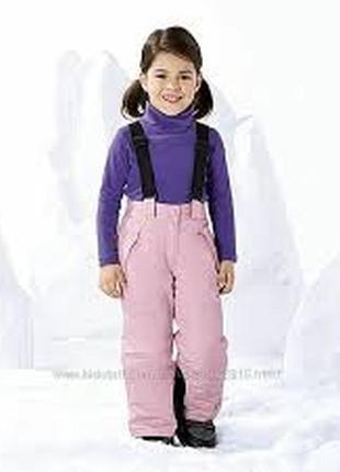 Lupilu полукомбинезон штаны ( термо) рост 86/92
