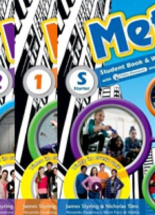 Metro 0,1,2,3 Student's Book and Workbook