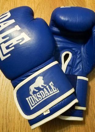Боксерские Перчатки Lonsdale Натуральная Кожа 10, 12, 14 Унций
