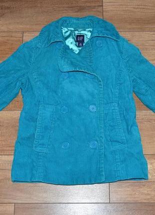 Куртка, пиджак вельвет демисезон gap xs