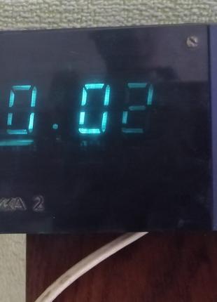 Часы электроника 2 сделанные в СССР