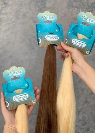 Натуральные волосы для наращивания от фабрики волос Osmosis