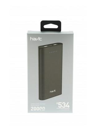 PowerBank Havit HV-H534 20000 mAh (Black)