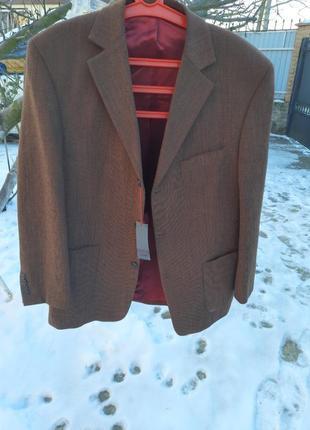 Шикарный итальянский пиджак винтаж