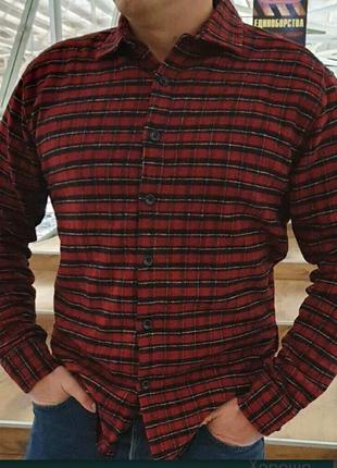 Чоловіча сорочка тепла