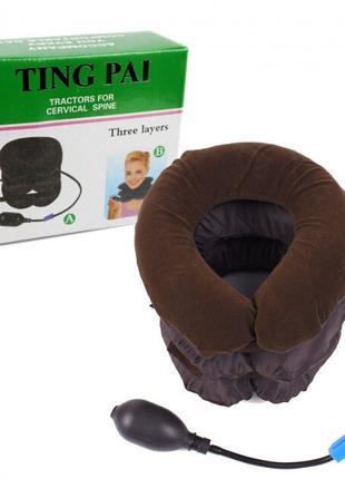 Массажер Надувной ортопедический воротник для шеи Ting Pai