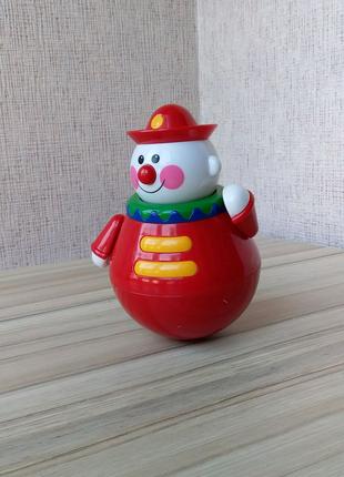 Неваляшка Tolo Клоун