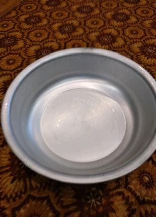 Миска таз алюминиевый