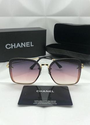 Женские солнцезащитные очки в стиле chanel 🔥