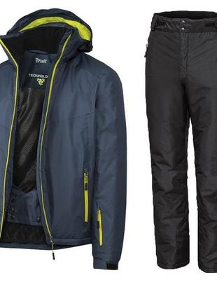 Лыжный термо костюм мужской crivit р52 (євро), l куртка + штани