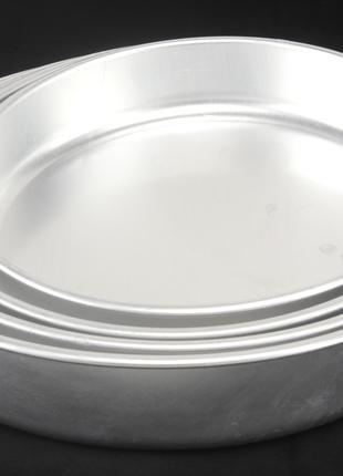 Набор круглых алюминиевых противней