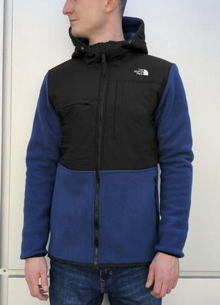 Курка на флисе  the north face denali 2 fleece jacket черно -с...