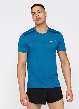 Футболка бігова nike running miler ss cool t-shirt - m
