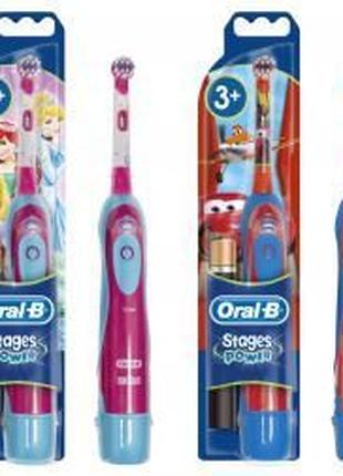 Детская зубная щетка Oral-b Braun ,насадка сменная
