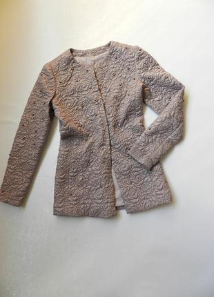 ✅плащ-кардиган-пиджак-жакет с жемчужинами