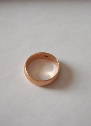 Золотое кольцо женское, ссср, примерно 7-грамм, 583-проба