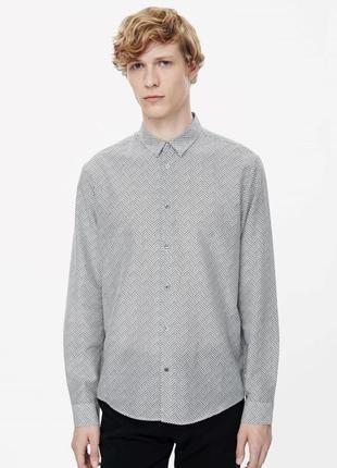 Рубашка slim fit cos