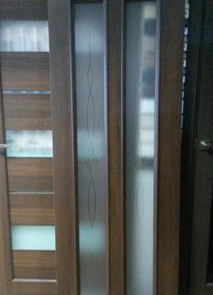 Двери Стелла Новый Стиль 70 см каштан