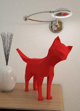 Наборы для создания 3д фигур кот