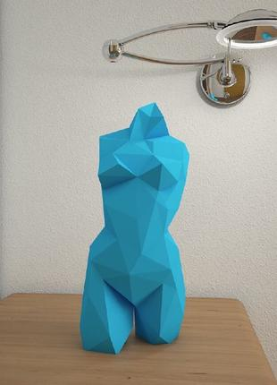 Оригами Паперкрафт Бумажная модель статуя