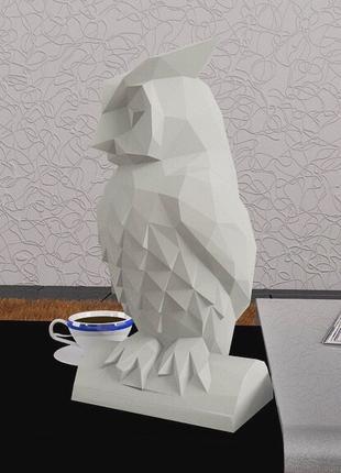 Наборы для создания 3д фигур Оригами сова