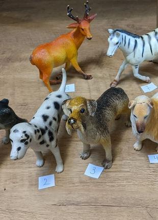 Игрушки животные резиновые ( много выбора )