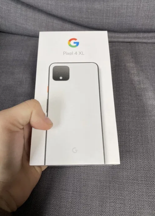 Смартфон Google Pixel 4 XL 128GB Clearly White