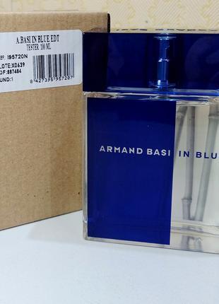 Armand Basi In Blue. Чоловіча туалетна вода EDT 100 МЛ Луцьк Нова