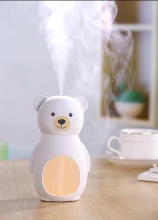 Компактный ночник и usb увлажнитель воздуха humidifier bear el...