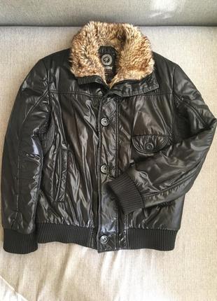Мужская зимняя курточка 46 48