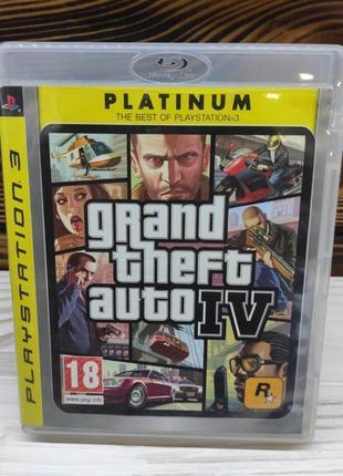 GTA 4 игра на ps3