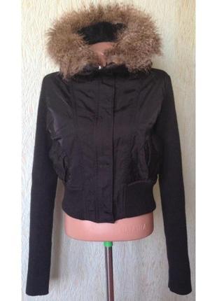 Распродажа - куртка с капюшоном на утеплителе *jane norman* 14 р.
