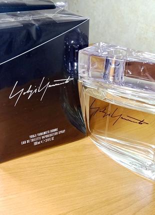 Yohji Yamamoto Homme Чоловіча туалетна вода EDT 50 МЛ Луцьк Нова