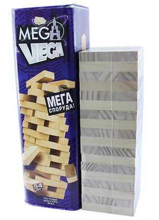 Настольная игра Дженга Башня Jenga Mega Vega Джанга G-MV-01U 5...