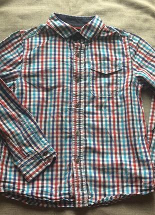 Классная рубашка в клетку next