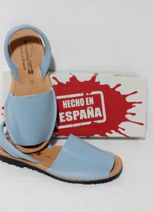 Оригинал. Испанские кожаные Mенорки, Абаркасы. ТМ Menorguina.