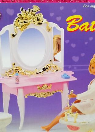 Набор кукольной мебели Gloria Глория 2316 Ванная комната Леди